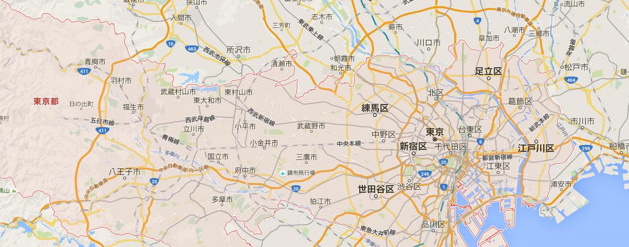GoogleMap(グーグルマップ)に対応しているGPSレンタル製品