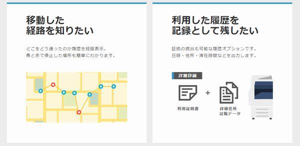 GPSnext(GPSネクスト)なら調査対象の移動履歴を印刷できる
